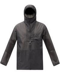 Y-3 パネルシェル フーデッドジャケット - マルチカラー
