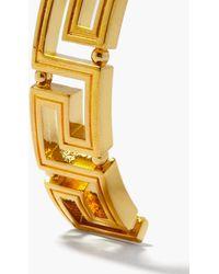 Versace グレカ カフブレスレット - メタリック