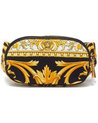 Versace バロック キャンバスベルトバッグ - マルチカラー