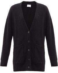 Officine Generale Rosa Wool-blend Cardigan - Black