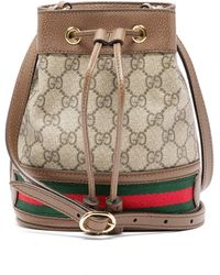 Gucci Ophidia GG Bucket Bag Small - Multicolour