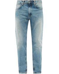 Nudie Jeans グリティ ジャクソン オーガニックコットンジーンズ - ブルー