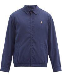 Polo Ralph Lauren ポプリンボンバージャケット - ブルー