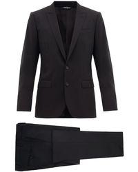 Dolce & Gabbana - マティーニ バージンウール ツーピース シングルスーツ - Lyst