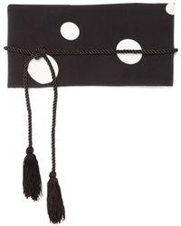 Racil - Obi Polka Dot-print Waist Belt - Lyst