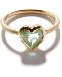 Irene Neuwirth Love Tourmaline & 18kt Gold Ring - Green
