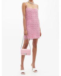 Givenchy 4g スモール レザーバッグ - ピンク