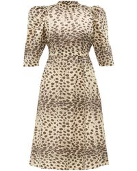 Sea Robe en coton à imprimé léopard Leo - Multicolore