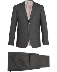 Thom Browne - Single-breasted Wool Suit - Lyst