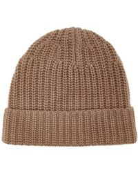 JOSEPH - Ribbed Knit Beanie Hat - Lyst