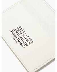 Maison Margiela - ロゴ レザーカードケース - Lyst