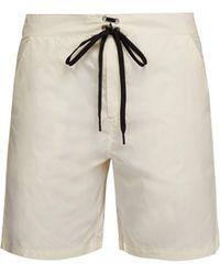 Solid & Striped The Longboard Swim Shorts - White