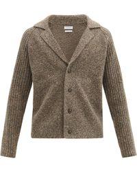 Deveaux Cardigan en laine mérinos Eastwood - Multicolore