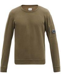C.P. Company コットンスウェットシャツ - グリーン