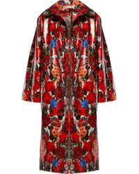 Marni - Duncraig Print Waxed Cotton Raincoat - Lyst