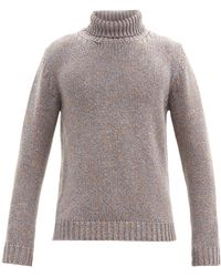 Altea - Roll-neck Cashmere Sweater - Lyst