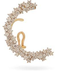 Ana Khouri - Marie Diamond & 18kt Gold Ear Cuff - Lyst
