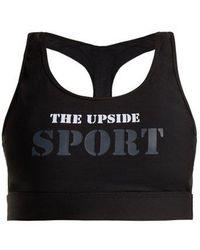 The Upside - Anna Logo-print Sports Bra - Lyst