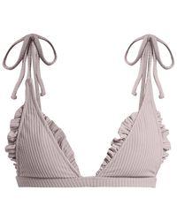 Made By Dawn - Traveler Triangle Bikini Top - Lyst