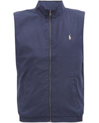 Polo Ralph Lauren - Logo-embroidered Gilet - Lyst