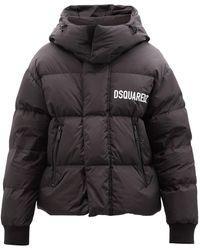 DSquared² ケニー キルティングジャケット - ブラック
