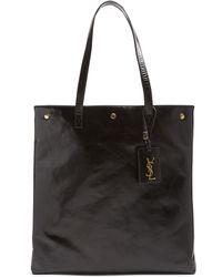 Saint Laurent - Noe Leather Tote - Lyst