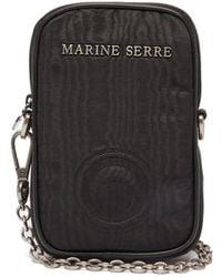 Marine Serre - エンボスロゴ クロスボディフォンケース - Lyst