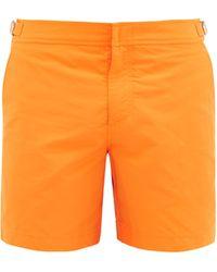 Orlebar Brown Short de bain Bulldog - Orange