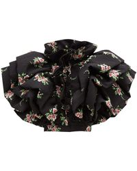 Rodarte - Ruffled Floral-print Cloqué Jacket - Lyst