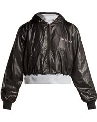 Natasha Zinko - Double Layered Hooded Jacket - Lyst