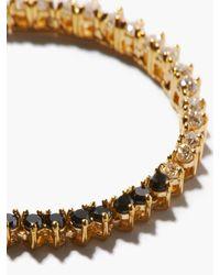 Lizzie Mandler オセロ ダイヤモンド 18kゴールドネックレス - メタリック