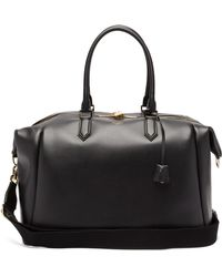 Dolce & Gabbana Mediterraneo Leather Holdall - Black