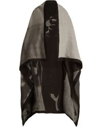 Mary McCartney - Dress Up-print Wool And Silk-blend Scarf - Lyst