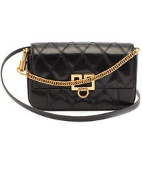 Givenchy Gv3 Mini Leather Cross-body Bag - Black