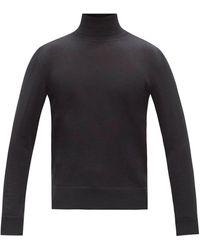The Row エミリー タートルネックセーター - ブラック