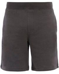 Rag & Bone Driscoll Cotton-blend Jersey Shorts - Grey