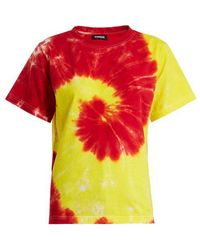 Kwaidan Editions - Cotton Tie-dye T-shirt - Lyst