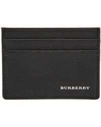 Burberry - Grained Leather Cardholder - Lyst