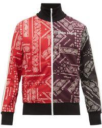 Palm Angels Bandana Track Jacket - Multicolor