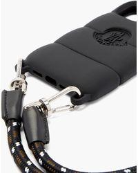 Moncler Logo-debossed Quilted Iphone® 12 Case - Black