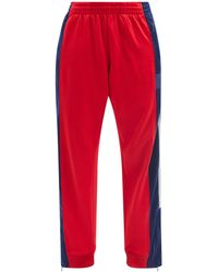 Colville Striped Upcycled-jersey Tapered-leg Track Trousers