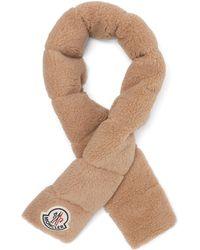 Moncler ロゴパッチ フェイクシアリングスカーフ - マルチカラー