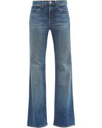 Nili Lotan - Celia Flared-leg Jeans - Lyst