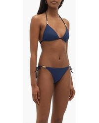 Heidi Klein Rope Side-tie Bikini Briefs - Blue