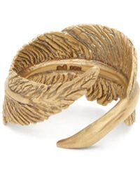 M. Cohen - The Feather 18kt Gold Ring - Lyst