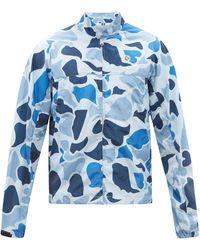 BBCICECREAM アストロ カモフラージュ シェルジャケット - ブルー