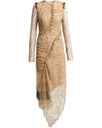 Preen By Thornton Bregazzi Mazine Lace Dress - Natural