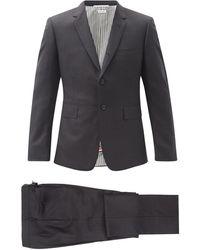 Thom Browne スーパー 120s ウールツイル スーツ&ネクタイ - マルチカラー