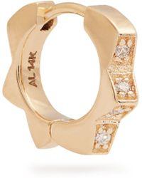 Alison Lou - Diamond & Yellow-gold Stelle Single Earring - Lyst