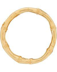 JW Anderson Yellow Quartz & 18kt Rose Gold Shell Charm